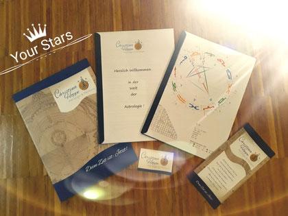 Astrologie Horoskop Mappe von Christina Hoppe, free your sould